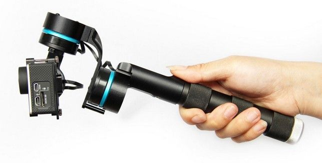 3 axis handheld steady gimbal