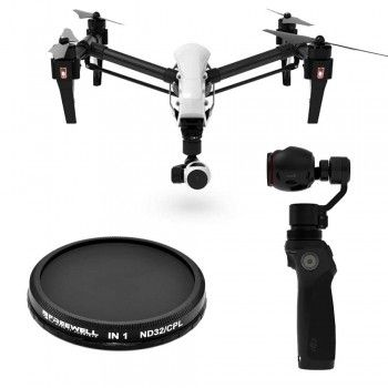 freewell filters DJI Inspire 1 et Osmo 2 in 1
