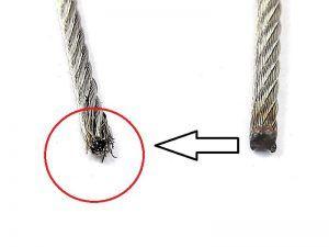 support nacelle câbles