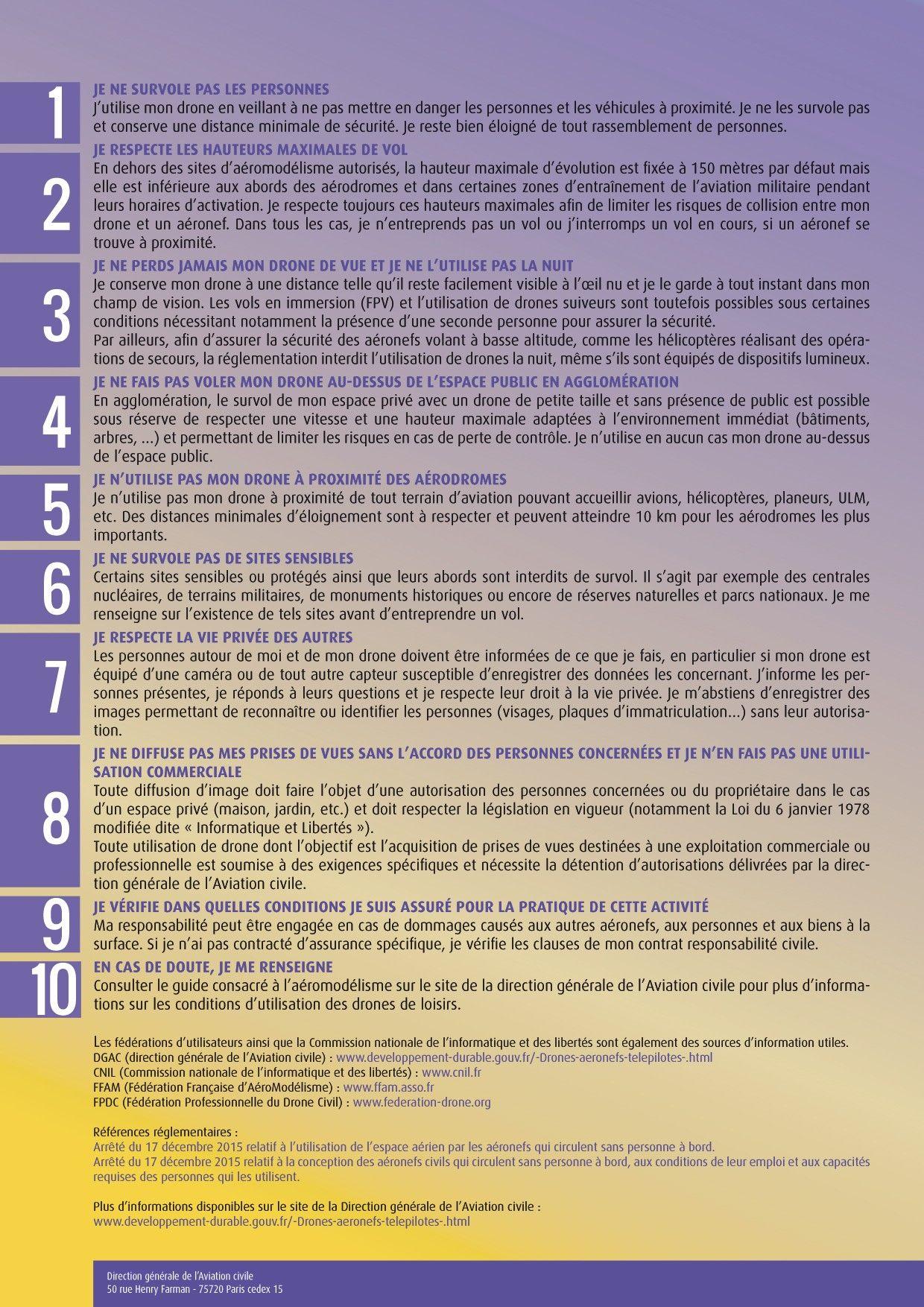 règles DGAC