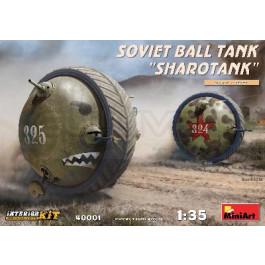 """Maquette de char ballon soviétique """"SHAROTANK"""" 1/35"""