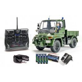 Engin de chantier électrique radiocommandé UNIMOG 300