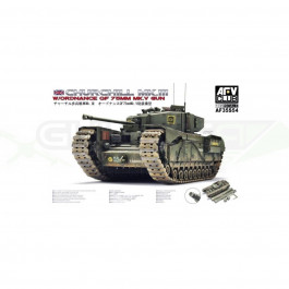 Maquette de char Churchill Mk.3/75mm (limited edition) 1/35