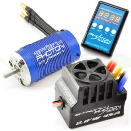 Combo brushless moteur 3000KV/esc 80A + carte de programmation Photon 2.1FW