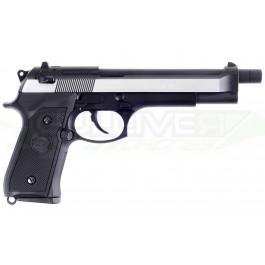 Réplique de poing GBB M92 long bi-ton