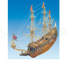 Maquette bois SOVEREIGN OF THE SEAS 1/78