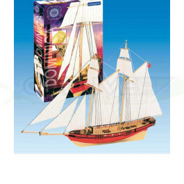 Maquette de bateau Dominica 1/88