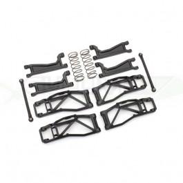 Kit de suspension large noir Widemaxx pour Traxxas Maxx