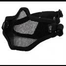 Masque grillagé anti-condensation swiss arms bas visage noir