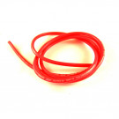 Cable silicone 14awg rose fluo 1 metre