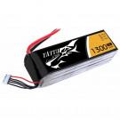 Batterie LI-PO Tattu 1300mAh 14.8v 45c 4s