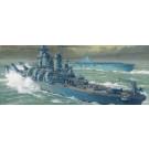 Maquette d' U.S. NAVY USS MISSOURI 1/450
