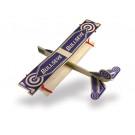 Petit planeur à lancer Bullseye Biplane Guillow's