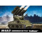 Maquette de M4A3 Sherman Calliope 1/35