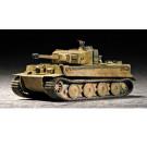 Maquette de Tiger 1 tank (Late) 1/72  Trumpeter