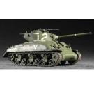 Maquette de M4A1 (76) W Tank 1/72 Trumpeter