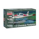 Maquette de Piper Cherokee hydravion 1/48