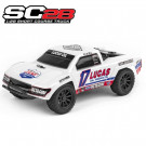 Mini short course SC28 SC TRUCK LUCAS OIL EDITION 1/28
