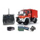Camion de Pompier électrique radiocommandé Unimog U300