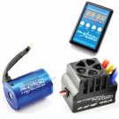 Combo brushless moteur 3450kv/esc 45A + carte de programmation Photon