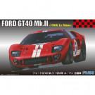 Maquette de Ford Gt40 66 Lemans 1/24
