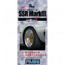 Jantes pour maquettes Tw-65 14inch Ssr Mark Iii Wheel 1/24 Fujimi