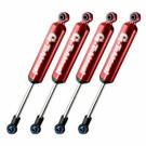 Amortisseurs G-transition 90mm rouges (x4) pour crawler 1/10