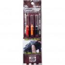 Mr. Weathering liner rust color set