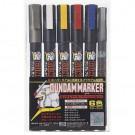 Marqueurs Gundam Marker Basic 6 Color Set