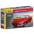 Maquette de Jaguar Type E 3L8 FHC 1/24