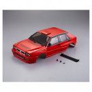 Carrosserie peinte Lancia Delta HF Integrale rouge RTU