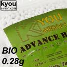 Billes 0.28gr Kyou BIO x1785 billes blanches