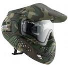 Masque de protection VALKEN MI-7 Thermal woodland