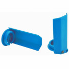 Protections amortisseurs RPM pour traxxas X-Maxx Bleu (2pc)