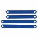 Heavy duty camber link RPM Bleu pour Trx Stamp/Rust