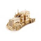 Puzzle mécanique bois Camion Américain 1/40