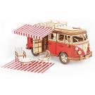 Puzzle mécanique bois Camping car T1