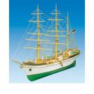 Maquette de bateau Gorch Fock 1/90