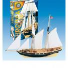 Maquette de bateau Virginia 1/80