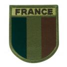 Patch brodé France basse visibilité