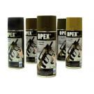 Bombe de peinture noir mât Opexcolor 400ML