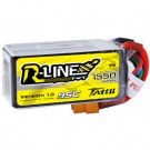 Batterie LI-PO Tattu R-Line 1550mAh 14.8v 95c 4s avec prise XT60 pour drone FPV Racing