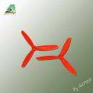 Hélice Gemfan Tripale Fibre 5x4,5 Orange (2 Pcs)