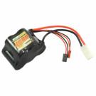 Batterie RX 4600mAh NIMH Hump 1/5 prise jr/bec/tamiya