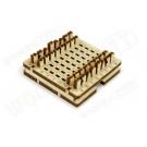 Puzzle mécanique bois Mini jeu d'échec