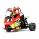 Tricycle RC 1/8 Flamingo RTR rouge