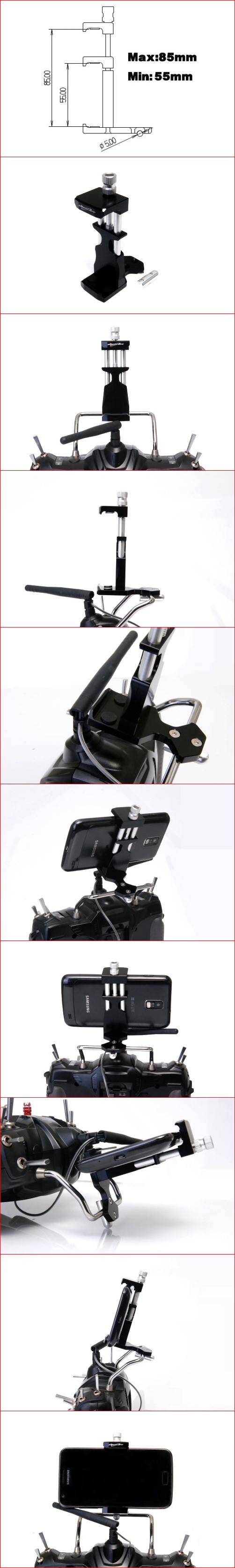 SE mobile Grip for transmitter(S)